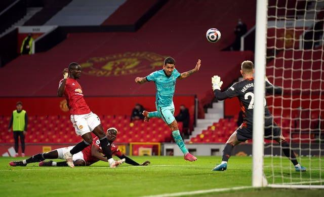 Roberto Firmino was able to open his account all too easily from a Trent Alexander-Arnold free-kick