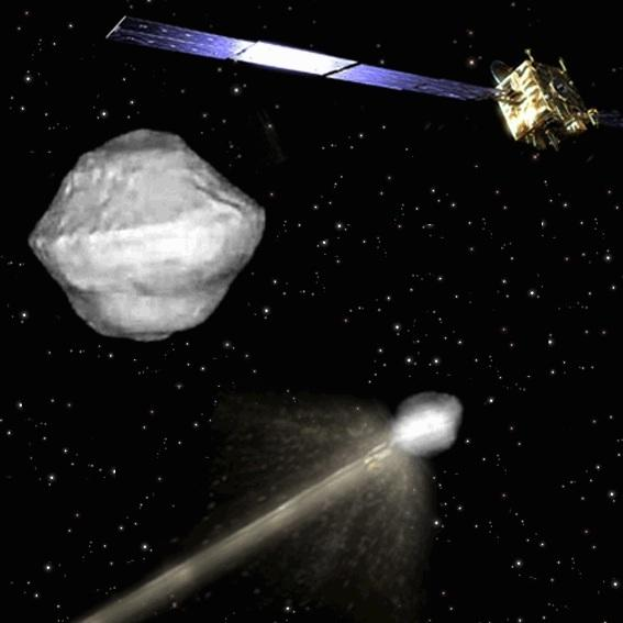 Asteroid-Smashing Space Probes Set for Cosmic Crash in 2022