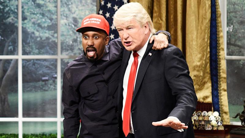 'Saturday Night Live' Recreates Donald Trump and Kanye West's Insane Oval Office Meeting in Epic Cold Open