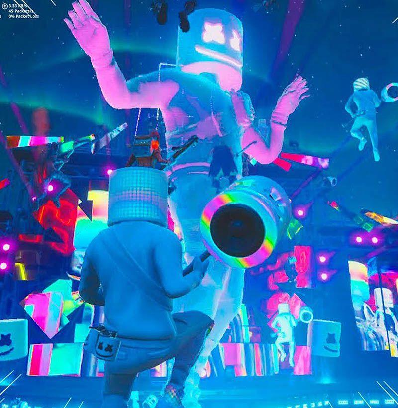 "<p>Arguably one of the most innovative collaborations, Marshmello, an EDM DJ geared toward a younger audience, dropped into <em>Fortnite </em>with the release of a Marshmello skin, emote, and a few other cosmetics in February. Marshmello also performed an exclusive free concert-<a rel=""nofollow"" href=""https://www.youtube.com/watch?v=NBsCzN-jfvA"">in the game</a>. <em>Fortnite </em>is notorious for putting on timed events, but a full-fledged concert organized with a major celebrity was definitely a first for the gaming world. <em></em></p>"