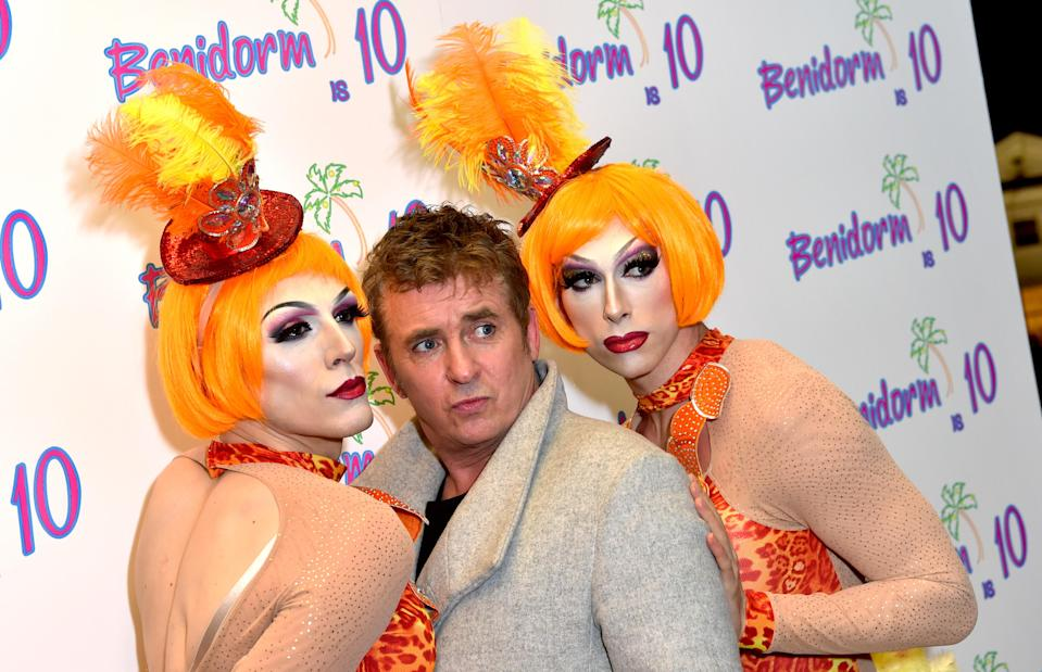 Shane Richie during the Benidorm Is 10 event, held at the Mayfair Curzon, London. (PA)