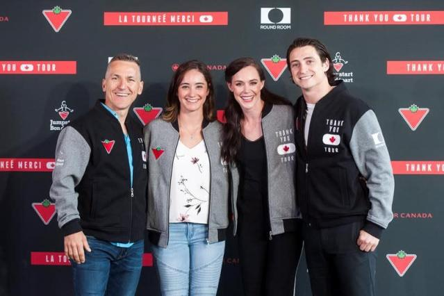 Virtue & Moir relish chance to stretch creative muscles on thank-you tour
