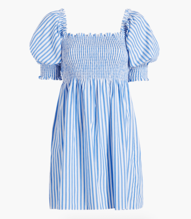 "<p>Hill House Home Athena Nap Dress, $100, <a href=""https://www.hillhousehome.com/products/the-athena-nap-dress?variant=31870564728875#Image14227959152683"" rel=""nofollow noopener"" target=""_blank"" data-ylk=""slk:available here"" class=""link rapid-noclick-resp"">available here</a></p>"
