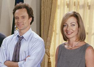 The West Wing Bradley Whitford Allison Janney