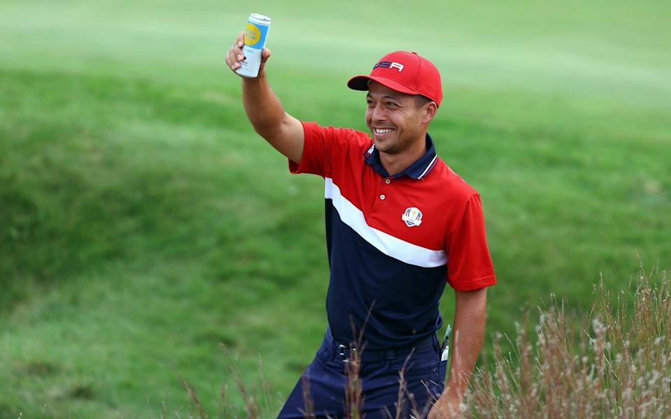 Xander Schauffele of team United States the Team United States - Getty Images