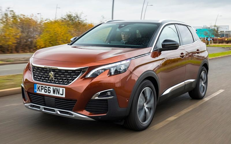 The Peugeot 3008 SUV has been crowned Car of the Year 2017 - DANIEL PULLEN 2016