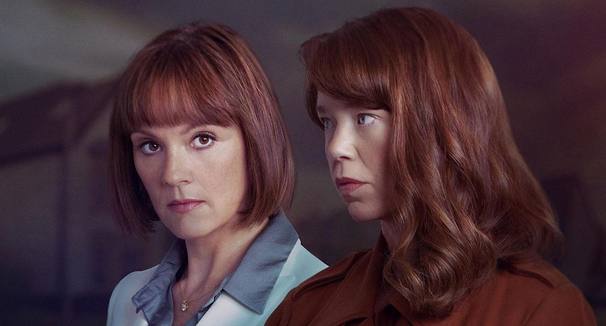 The sisters continue to keep secrets. (ITV)