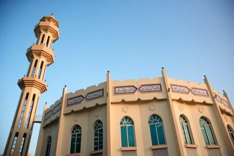 A mosque in Ajman - Credit: GETTY