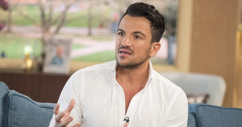 Peter Andre opened up about his battle with social anxiety on This Morning (Copyright: Ken McKay/ITV/REX/Shutterstock)