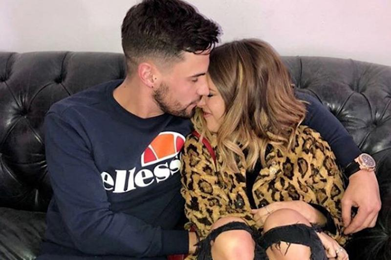 Happy: Andrew Brady and Caroline Flack: Instagram/ Andrew Brady