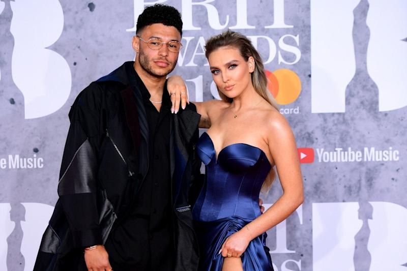 Couple: Perrie Edwards and Alex Oxlade-Chamberlain (PA)