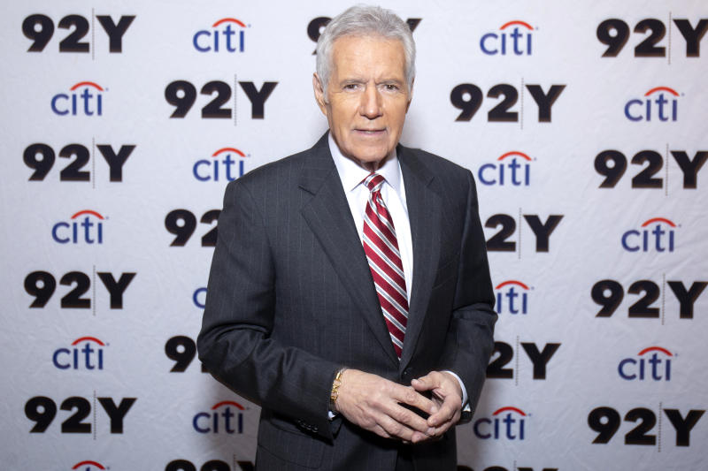 Alex Trebek has died, according to a statement posted by Jeopardy!. (Photo: Santiago Felipe/Getty Images)