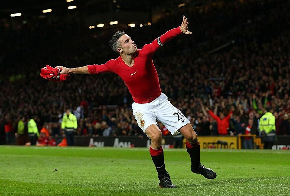 Robin Van Persie chose United over City after leaving ArsenalGetty