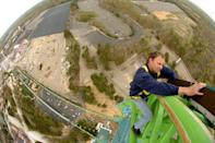 """<p>Considered one of the craziest rollercoasters in the nation, <a href=""""https://www.sciencechannel.com/tv-shows/impossible-engineering/videos/how-kingda-ka-catapulted-to-the-title-of-worlds-tallest-roller-coaster"""" rel=""""nofollow noopener"""" target=""""_blank"""" data-ylk=""""slk:Kingda Ka"""" class=""""link rapid-noclick-resp"""">Kingda Ka</a> at Six Flags Great Adventure in New Jersey hits 128 miles per hour in just 3.5 seconds, and features a 270-degree spiral. The fastest coaster in the country may not last a full minute, but with its height—the tallest in the world at 456 feet—Kingda Ka creates a wild ride unlike any other.</p>"""