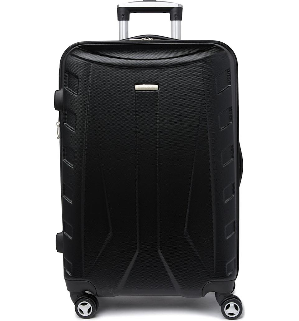 """<p><strong>Samsonite</strong></p><p>nordstromrack.com</p><p><a href=""""https://go.redirectingat.com?id=74968X1596630&url=https%3A%2F%2Fwww.nordstromrack.com%2Fs%2Fsamsonite-24-hardshell-spinner-luggage%2F6052546&sref=https%3A%2F%2Fwww.esquire.com%2Fstyle%2Fmens-accessories%2Fg36675557%2Fluggage-sale-nordstrom%2F"""" rel=""""nofollow noopener"""" target=""""_blank"""" data-ylk=""""slk:Shop Now"""" class=""""link rapid-noclick-resp"""">Shop Now</a></p><p><strong><del>$260</del> $90 (65% off)</strong></p>"""