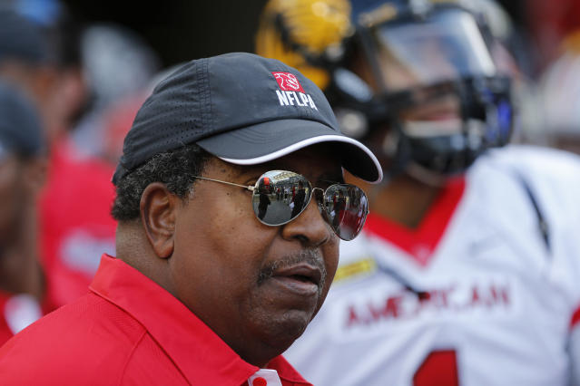 The Minnesota Vikings announced on Monday that former head coach Dennis Green will be inducted into the team's Ring of Fame in September. (AP)