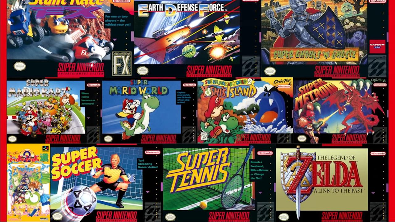 New NES and SNES games won't be released on Nintendo Switch