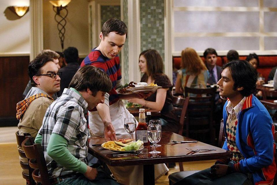 <p>It isn't everyday that a show's favorite restaurant is based on a real chain, but in <em>T</em><em>he</em> <em>Big Bang Theory </em>it's The Cheesecake Factory that brings everyone together. For a while, Penny worked as a waitress in the casual dining restaurant, and Sheldon even joins her for a stint in season 3. </p>