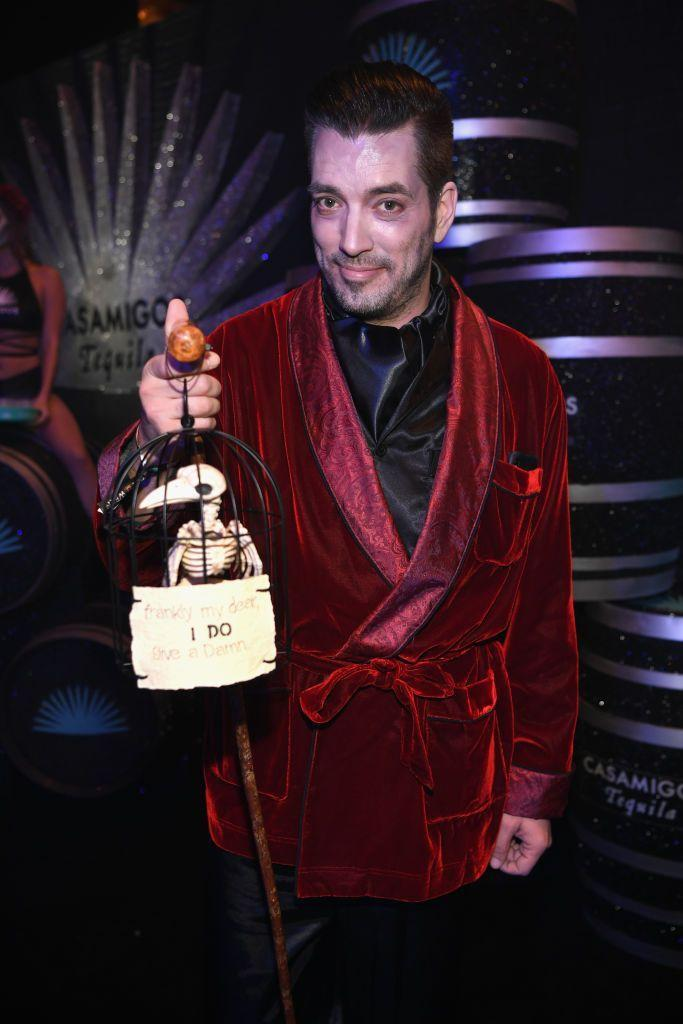 <p>The <em>Property Brothers</em> star looks positively ghastly in his 2018 look.</p>