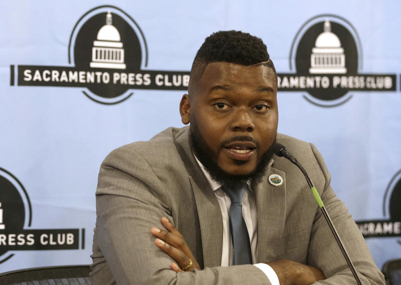 Stockton, California, Mayor Michael Tubbs has launched a program to provide universal basic income to a group of low-income residents. (ASSOCIATED PRESS)