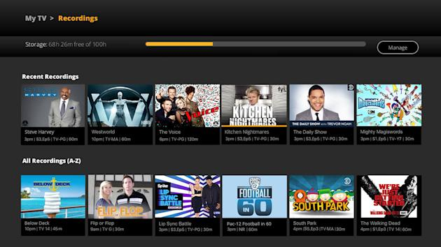 Sling TV is launching a cloud DVR next month