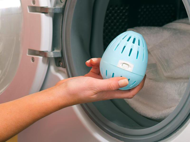 The Ecoegg will save you tons of money—and make you love doing the laundry. (Photo: HSN)