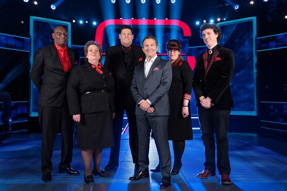 Anne with her fellow Chasers and presenter Bradley Walsh (Photo: ITV/Shutterstock)
