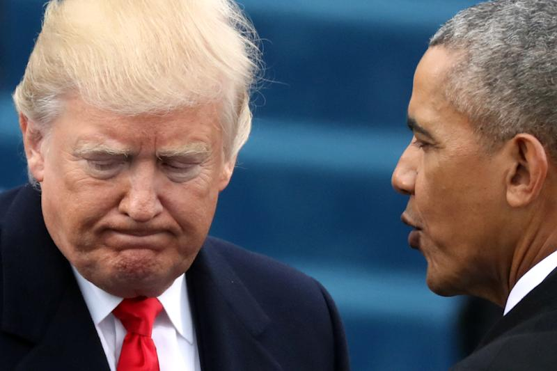 Obama's Many Trump Insults