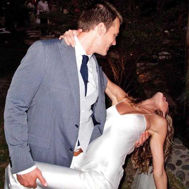 Tom Brady And Gisele Bundchen Exchange Sweet Messages For 8th Wedding Anniversary