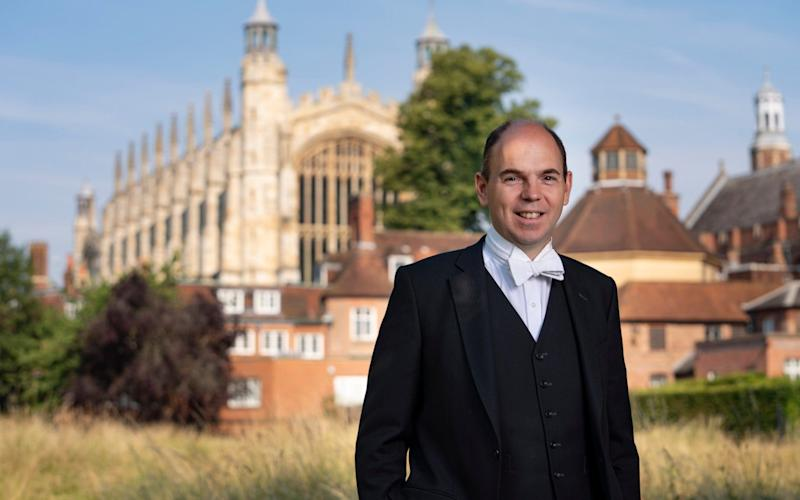 Simon Henderson, Head Master of Eton College: 'I haven't come to radically change the school' - Andrew Crowley