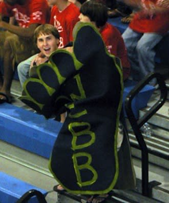 Yup, this is the Webb Foot. For the Webb Feet. — The Webb School