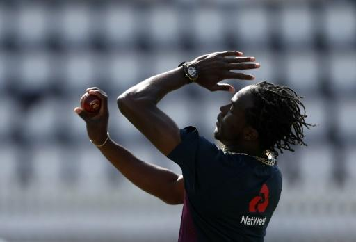 Test debut - England's Jofra Archer in training at Lord's