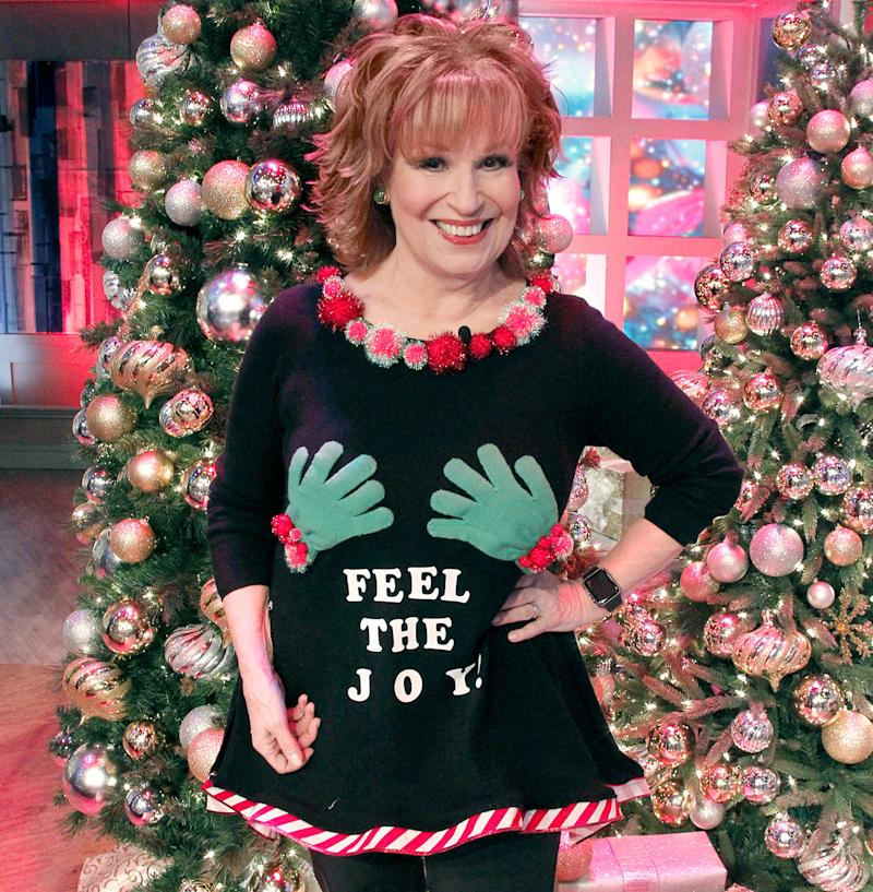 Joy Behar\'s Ugly Christmas Sweater on The View Is Almost NSFW: See It!