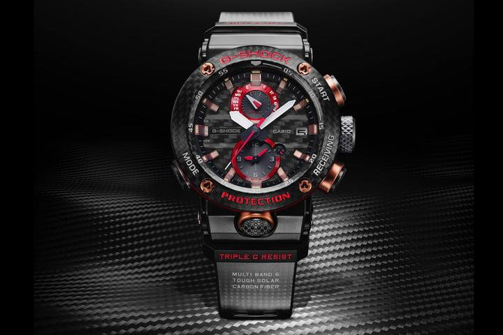 1f9d02be30 Stunning new G Shock is virtually indestructible in carbon fiber and ...