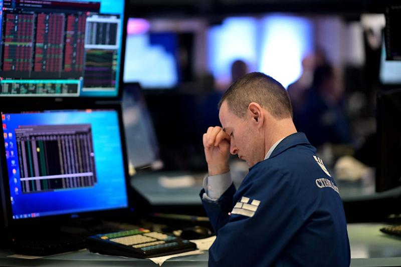 Stocks have fallen after the coronavirus outbreak (AFP via Getty Images)