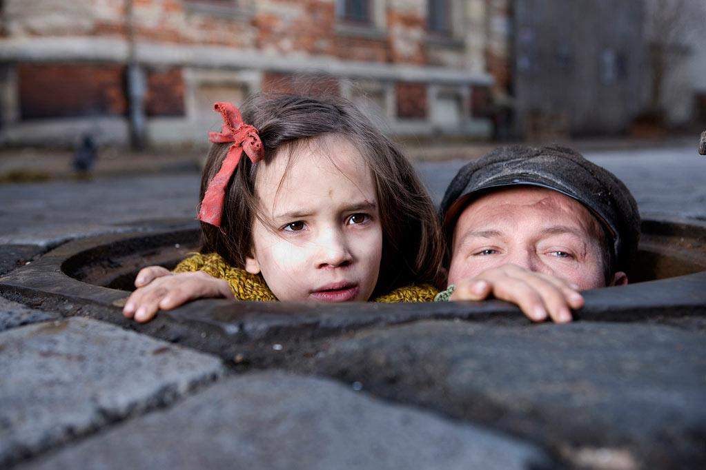 "Milla Bankowicz and Robert Wieckiewicz in Sony Pictures Classics' ""<a href=""http://movies.yahoo.com/movie/in-darkness/"">In Darkness</a>"" - 2012"