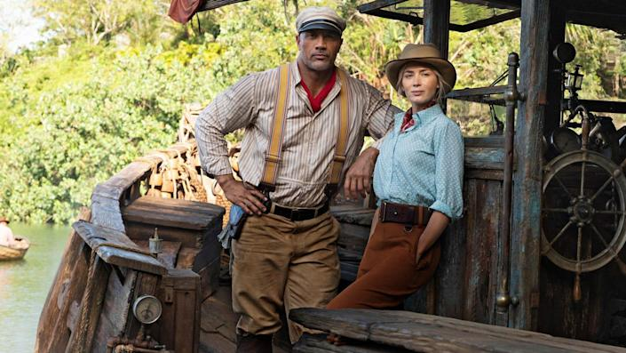 The new 'Jungle Cruise' film is based on the famous ride that was just upgraded at Disneyland.