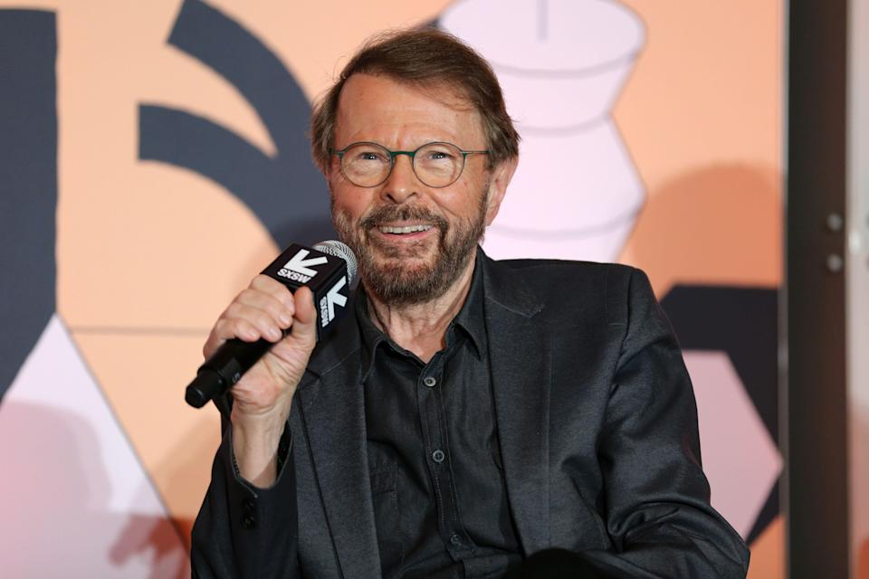 AUSTIN, TX - MARCH 14:  Bjorn Ulvaeus speaks onstage at Featured Session: Creator Credits: Providing the Missing Links during the 2019 SXSW Conference and Festivals at Hilton Austin on March 14, 2019 in Austin, Texas.  (Photo by Hutton Supancic/Getty Images for SXSW)