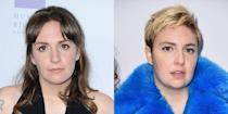 <p>Lena went with a pixie for her post-breakup cut following her split from longtime boyfriend Jack Antonoff. The pixie = a revenge look that rivals all others. </p>