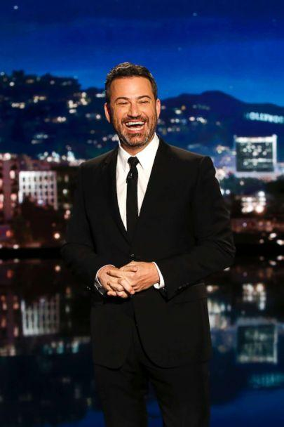 PHOTO: Jimmy Kimmel on 'Jimmy Kimmel Live!' in Los Angeles, Oct. 11, 2018. (Randy Holmes/ABC via Getty Images)
