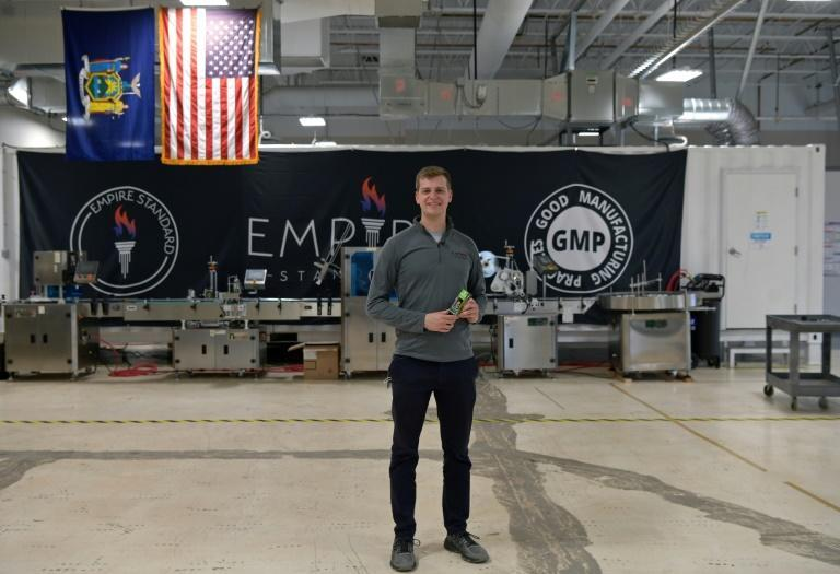 Empire Standard's CEO Kaelan Castetter rented new office space for the company after New York state legalized marijuana