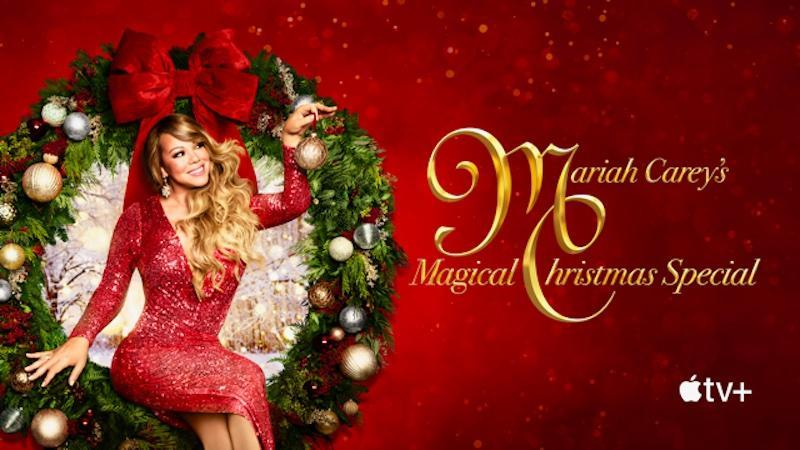 Mariah Carey ups the ante with her own Christmas special coming exclusively to Apple TV+. — Picture courtesy of Apple
