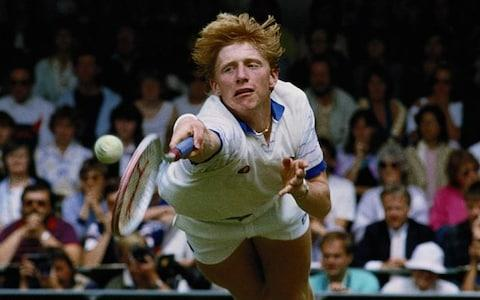 Boris Becker in his heyday - Credit: Getty