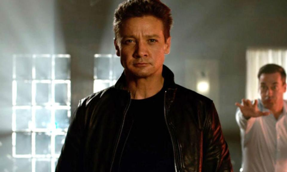 "<p>The Marvel star managed to <a rel=""nofollow"" href=""https://uk.movies.yahoo.com/jeremy-renner-breaks-arms-shooting-avengers-infinity-war-stunt-151402445.html"" data-ylk=""slk:break both his arms;outcm:mb_qualified_link;_E:mb_qualified_link;ct:story;"" class=""link rapid-noclick-resp yahoo-link"">break both his arms</a> after falling off a 20 foot stack of chairs while escaping Jon Hamm in a particular scene. He was given green screen casts to wear so they could CGI his arms in post-production. </p>"