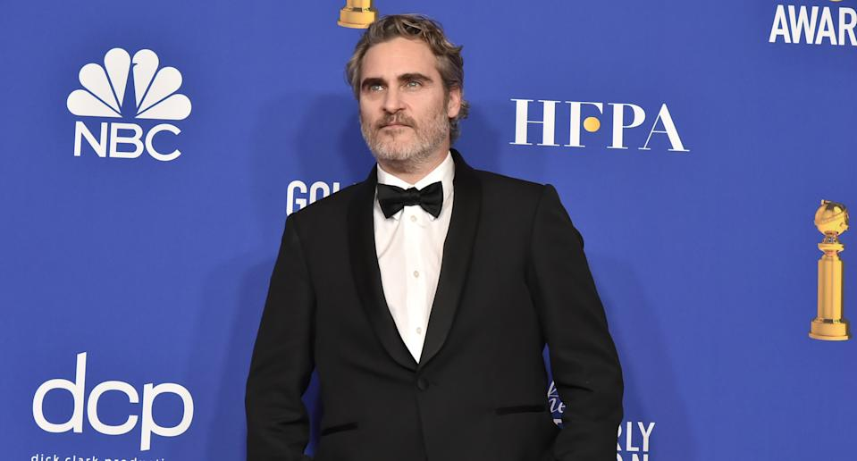 Joaquin Phoenix no Globo de Ouro 2020 (Foto: David Crotty/Patrick McMullan via Getty Images)