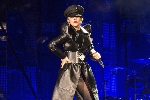 "<p>This country-tinged ballad, which reached No. 4, was Gaga's 14th top 10 hit. It was the second single from her fourth solo studio album, <em>Joanne</em>. The song got a new lease on life following Gaga's halftime performance at the Super Bowl. <a href=""https://www.youtube.com/watch?v=en2D_5TzXCA"" rel=""nofollow noopener"" target=""_blank"" data-ylk=""slk:LISTEN HERE"" class=""link rapid-noclick-resp""><strong>LISTEN HERE</strong></a>.<br>(Photo: Amy Harris/Invision/AP) </p>"