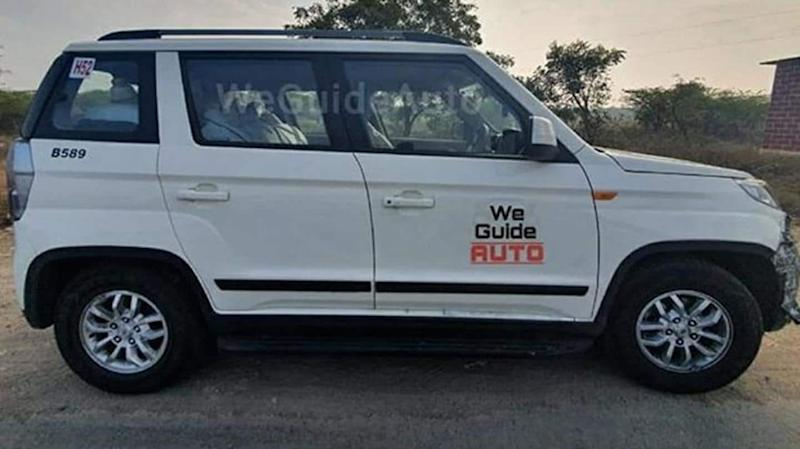 BS6 Mahindra TUV300 spotted undisguised, key design features revealed