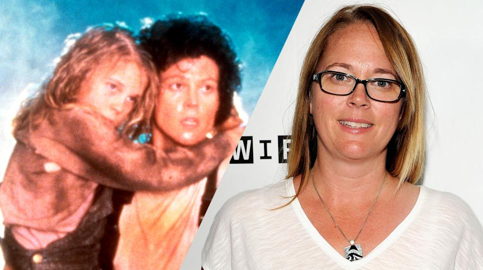 Carrie Henn then and now (credit: 20th Century Fox)