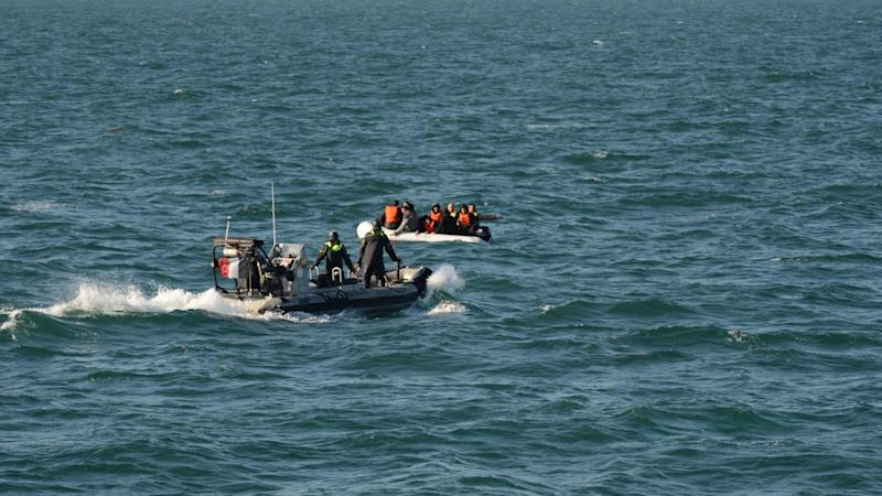 Migrants with severe hypothermia rescued from capsized boat in Channel