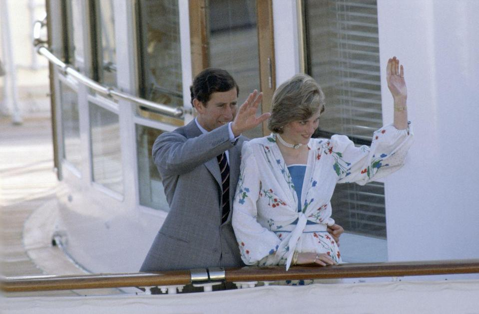 <p>Where does a royal couple honeymoon, you ask? On the royal yacht, of course. After the Broadlands, Charles and Diana set sail from Gibraltar to travel around the Mediterranean.</p>